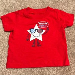 Baby Fourth of July Shirt